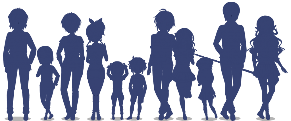 All dolls shadow